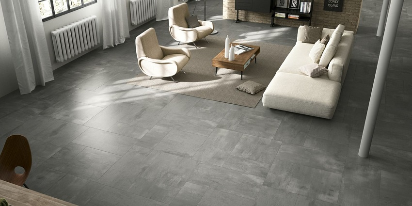 Concrete shop by theme tiles for Carrelage 90x90 gris