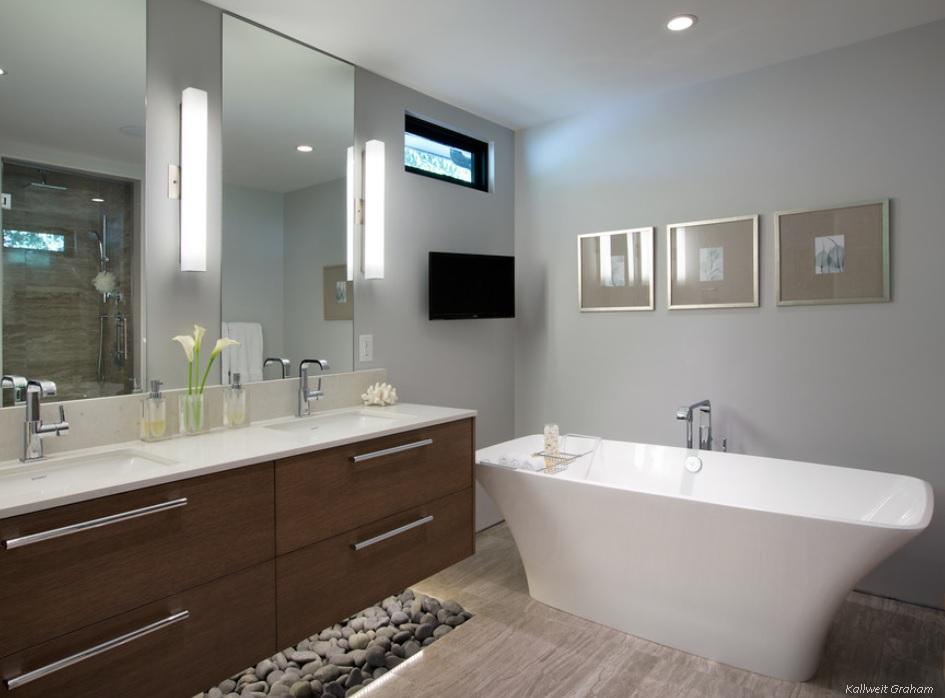 Zen inspiration for a Modern Bathroom