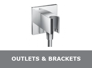 Shower Outlet & Head Brackets