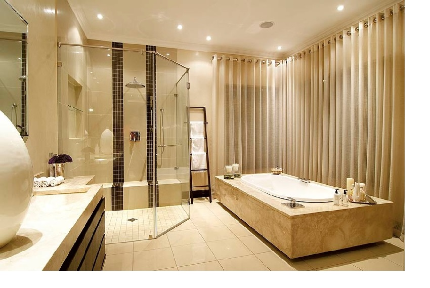 Sensual synergy of 'his and her' bathroom